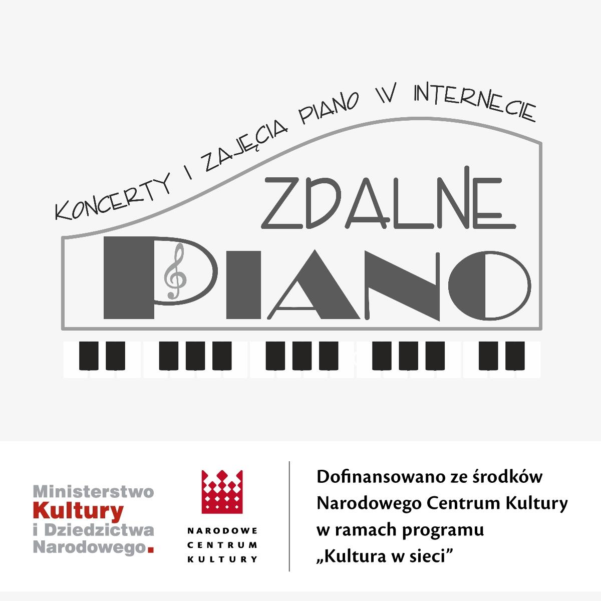 Zdalne Piano – koncerty i zajęcia piano w internecie #kulturawsieci